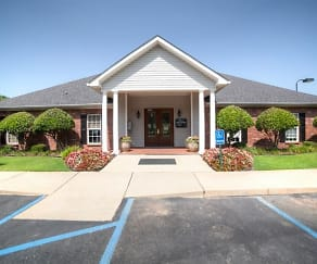 Exterior view of office, Reserve of Bossier City Apartment Homes