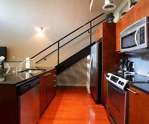 Kitchen, The Lofts at Atlantic Station