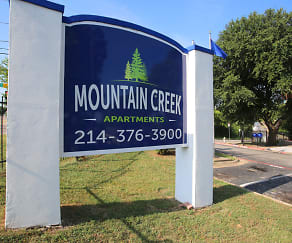 Community Signage, Mountain Creek View