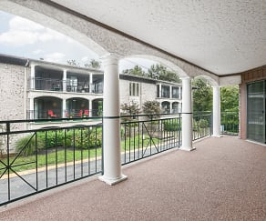 Patio / Deck, Village South & Villa Adrian Apartments