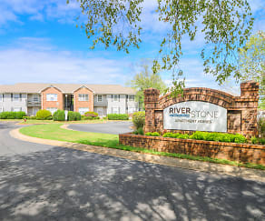 Community Signage, Riverstone Apartment Homes