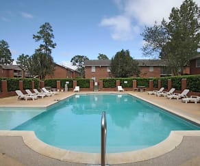Pool, Colony Square Apartments