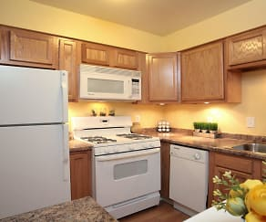 Kitchen, Apple Creek Townhomes