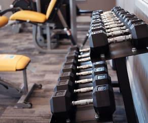 Fitness Weight Room, Lift at Jordan Creek