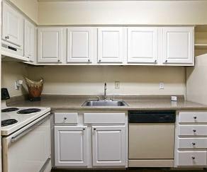 Kitchen, El Dorado Apartments