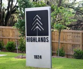 Community Signage, The Highlands