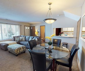 Dining Room, Southfork Townhomes