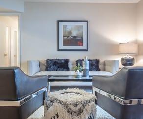 Living Room, Villa de Cortez