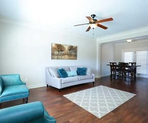 Living Room, Chaney Place Townhomes