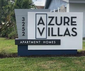 Community Signage, Azure Villas