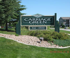 Community Signage, Carriage Green Estates