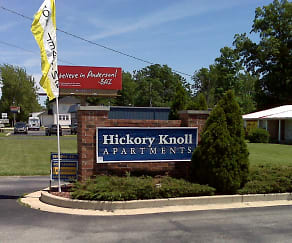 Community Signage, Hickory Knoll Apartments