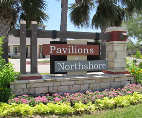 Community Signage, Pavilions at NorthShore