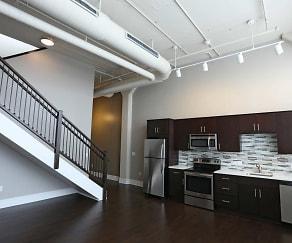 Kitchen, Bethune Lofts