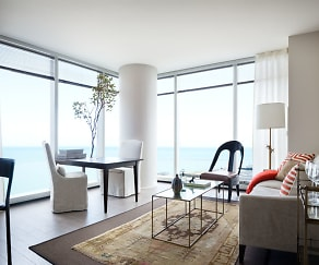 Living Room, 500 Lake Shore Drive