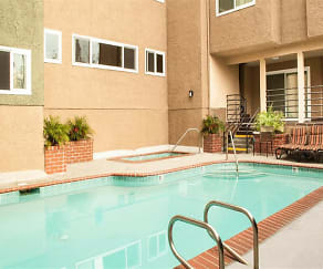Pool, The Plaza Apartments