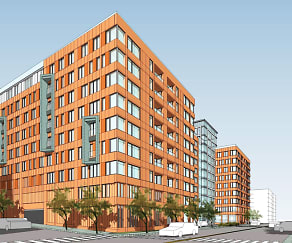 Rendering, Bronx River Road Apartments