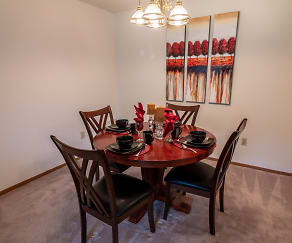 Dining Room, Southfield Apartments