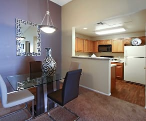 Dining Room, Sahara West Town Homes & Apartments