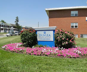 Community Signage, Dunlea Apartments