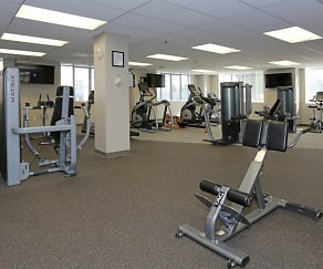 Fitness Weight Room, San Pedro Bank Lofts