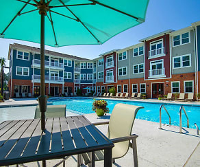 Pool, Parkside at the Highlands Apartments