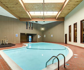 Large Indoor Pool with Natural Light, Eagle Pointe Apartments