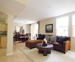 Living Room, Seaport Homes Luxury Condos & Townhouses
