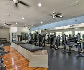 Fitness Weight Room, Lansbrook Village