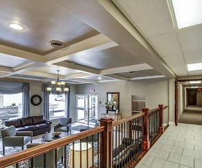 Building Lobby, Chateau Perry Apartments