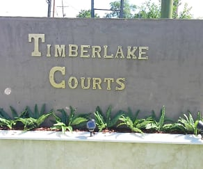 Community Signage, Timberlake Courts Apartments