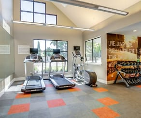 Fitness Weight Room, Avana San Jose
