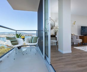 Patio / Deck, Panomar Apartments