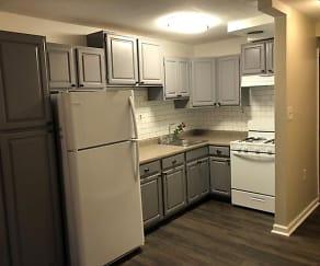 Kitchen, MLK Apartments