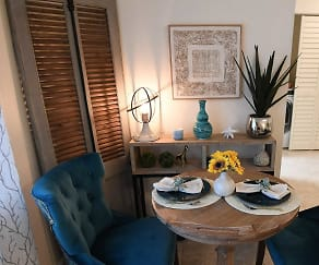 Dining Room, The Abby at 2700