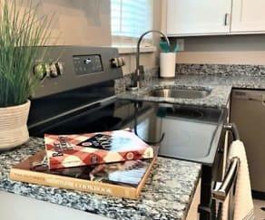 Kitchen, Emerson Apartments