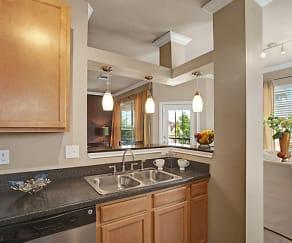 Kitchen, Palms at Briarwood