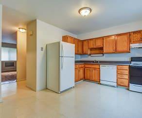 Kitchen, Norwich Apartments