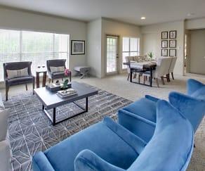 Living Room, Barton Creek Villas