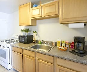 Kitchen, Central Park Apartments