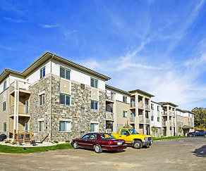 Building, North Towne Apartments