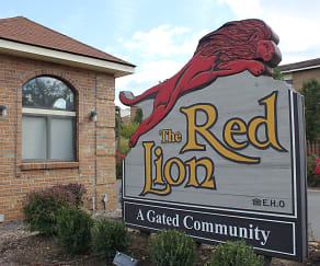 Community Signage, Red Lion Apartments