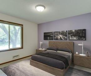Bedroom, 7672 Newton Ave N