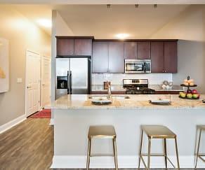 Kitchen, Arrive South Loop Apartments