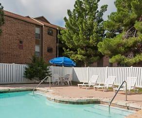 Pool, Ranchland Apartments