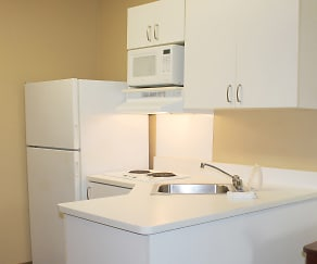 Kitchen, Furnished Studio - Washington, D.C. - Landover