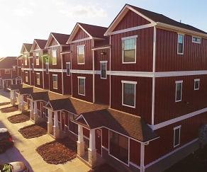 Building, Camber Villas