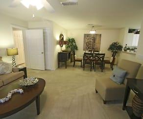 Living Room, Vantage Pointe Homes Marrowbone Heights
