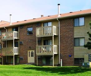 Building, Homestead Apartments