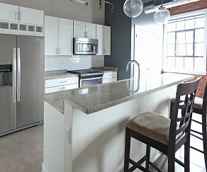 Kitchen, The Phoenix Brewery Apartments